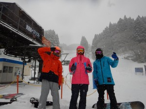 スノーボードで大雪(テニスネタではないw)